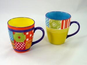 """Farbenfroh und individuell präsentieren sich die Kaffeebecher aus der Serie """"Carousel"""""""