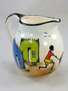"""Kapula Keramik Milchkrug """"Township"""", 500 ml"""