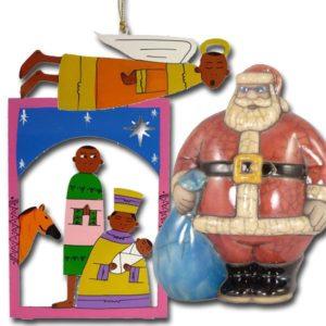 Ausgefallene Weihnachtsdeko aus Afrika