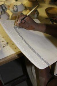 Keramik-Herstellung in Südafrika