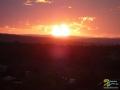 Sonnenuntergang im Addo Elephant Park, Südafrika